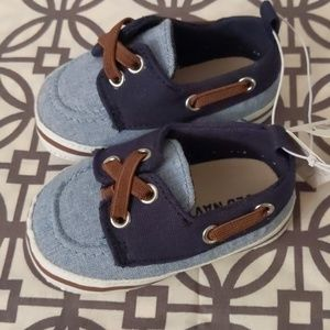 Old Navy Baby Boat Shoes 3-6 months